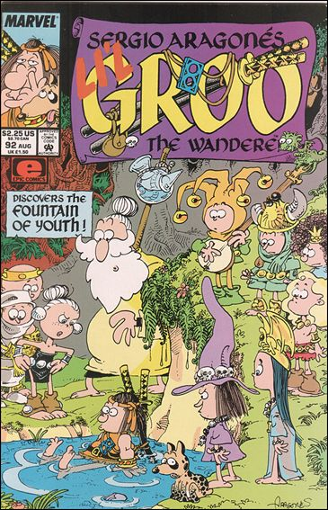 Sergio Aragones Groo the Wanderer 92-A by Epic