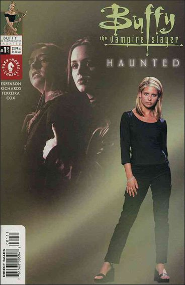 Buffy the Vampire Slayer: Haunted 1-B by Dark Horse