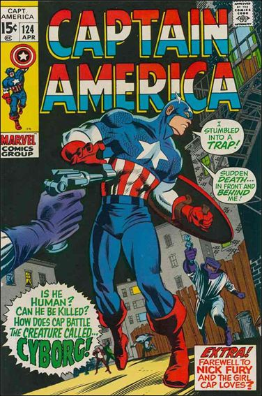 Captain America (1968) 124-A by Marvel