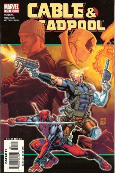 Cable & Deadpool 21-A by Marvel