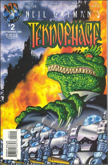 Neil Gaiman's Teknophage 2-A by Tekno•Comix