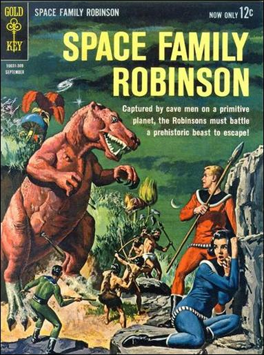 Space Family Robinson 4-A by Gold Key