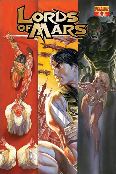 Lords of Mars 4-A by Dynamite Entertainment