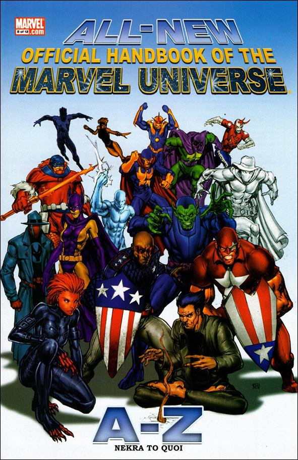All-New Official Handbook of the Marvel Universe A to Z 8-A by Marvel