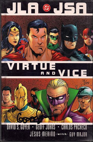 JLA/JSA: Virtue and Vice 1-B  by DC
