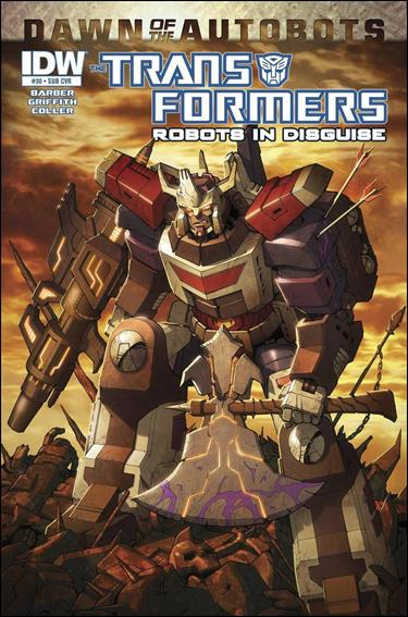 Transformers: Robots in Disguise 30-B by IDW