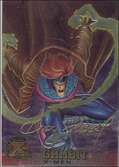 1995 Fleer Ultra X-Men All Chromium (Gold Signature Parallel Base Set) 6-A by Fleer