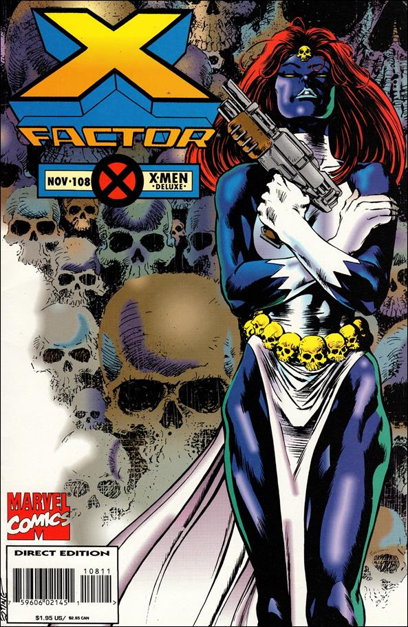 X-Factor (1986) 108-A by Marvel
