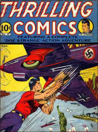 Thrilling Comics (1940) 10-A by Standard