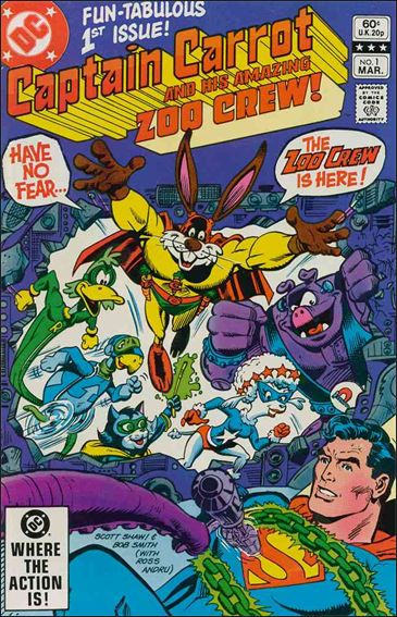 Captain Carrot and His Amazing Zoo Crew 1-A by DC