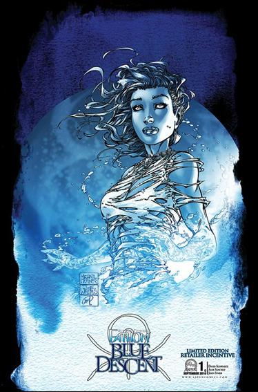 Michael Turner's Fathom: Blue Descent 1-C by Aspen