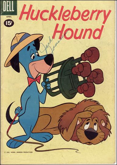 Huckleberry Hound (1959) 10-A by Dell
