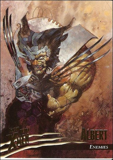 1996 Fleer Ultra X-Men: Wolverine (Base Set) 70-A by Fleer