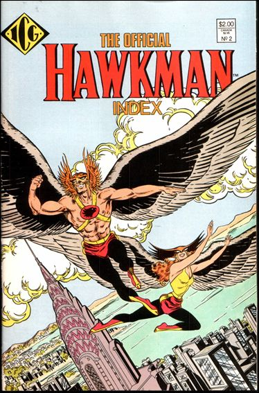 Official Hawkman Index 2-A by ICG