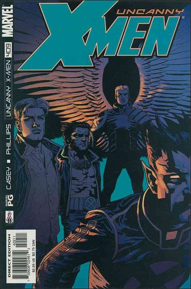 Uncanny X-Men (1981) 409-A by Marvel