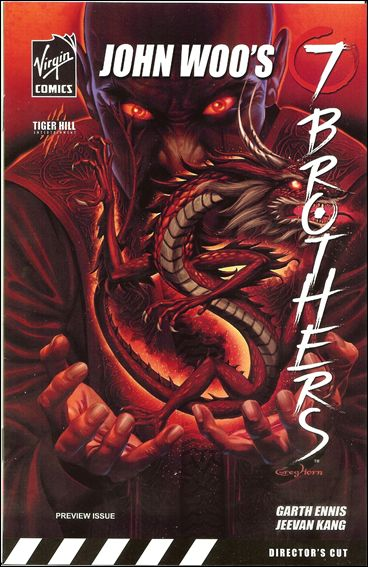 7 Brothers Special Edition Preview and Sketchbook 1-A by Virgin Comics