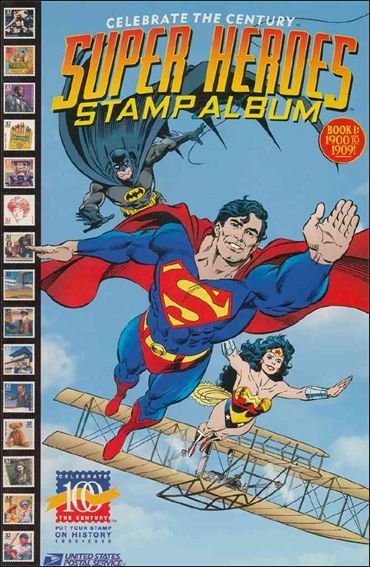 Super Heroes Stamp Album 1-A by DC