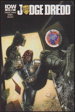 Judge Dredd (2012) 1-LL by IDW