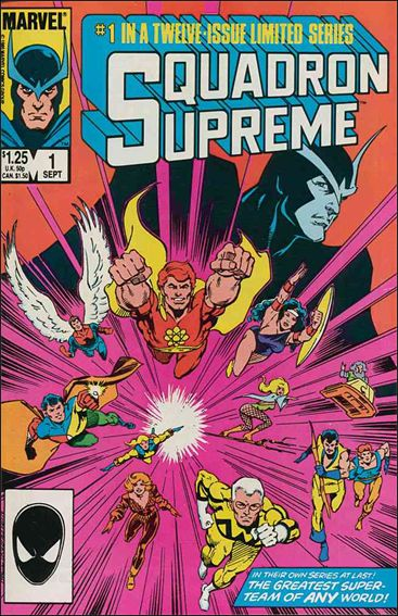 Squadron Supreme (1985) 1-A by Marvel