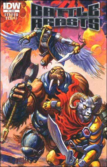 Battle Beasts (2012) 1-A by IDW