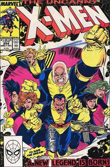 Uncanny X-Men (1981) 254-A by Marvel