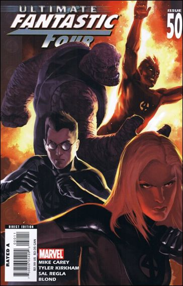Ultimate Fantastic Four 50-A by Marvel