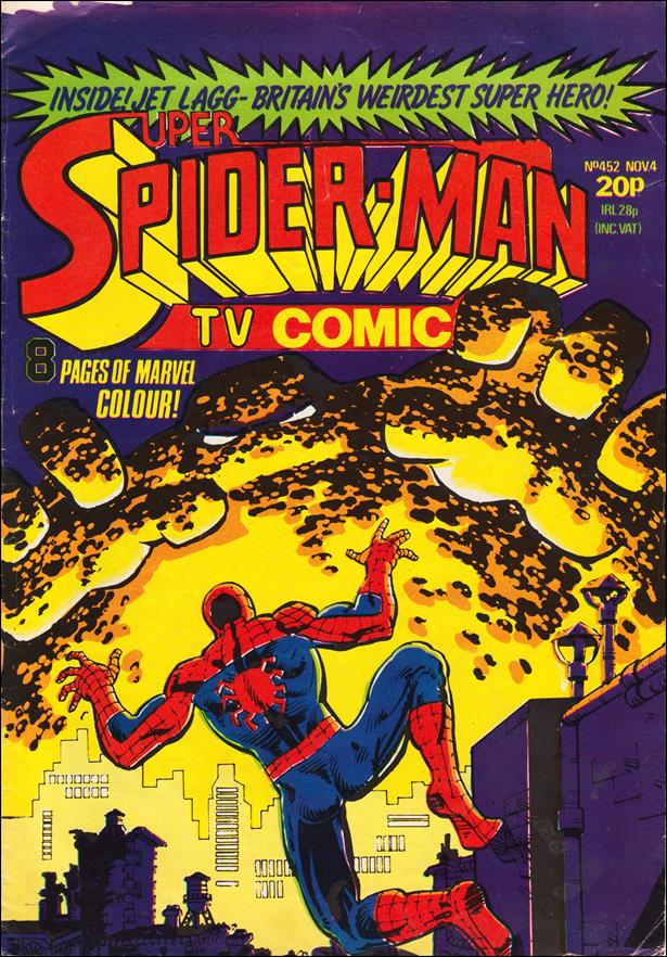 Spider-Man: Comics Weekly (UK) 452-A by Marvel UK