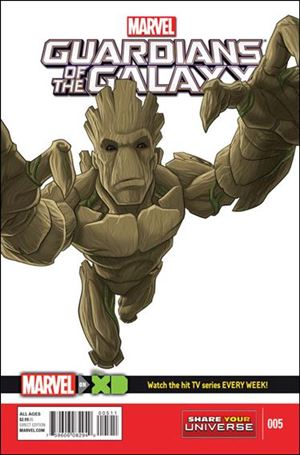 Marvel Universe Guardians of the Galaxy (2015/12) 5-A