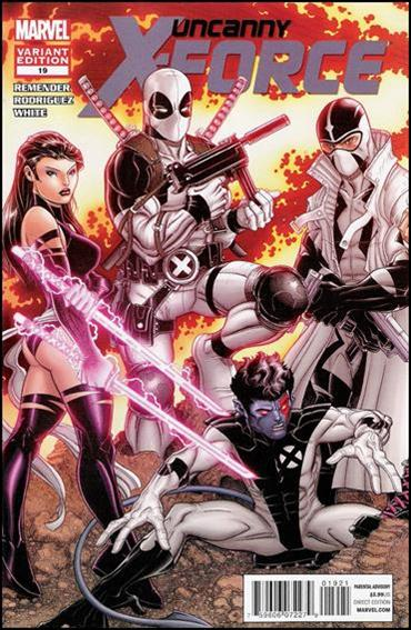 Uncanny X-Force (2010) 19-B by Marvel