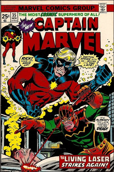 Captain Marvel (1968) 35-A by Marvel