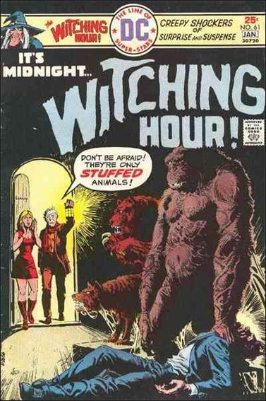 Witching Hour (1969) 61-A by DC