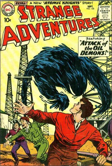 Strange Adventures (1950) 120-A by DC