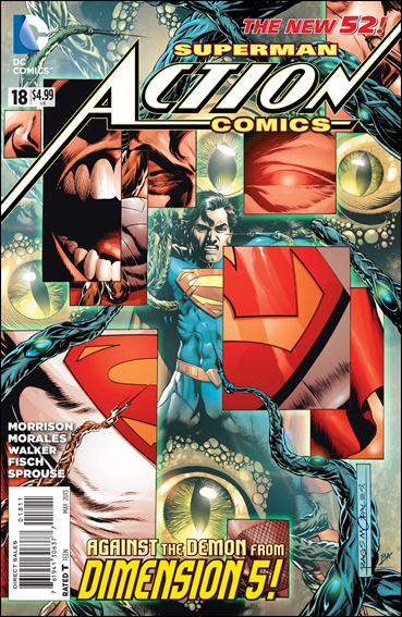 Action Comics (2011) 18-A by DC