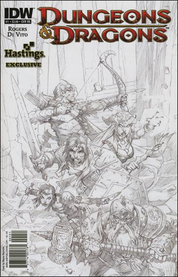 Dungeons & Dragons 1-D by IDW