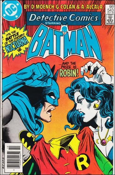Detective Comics (1937) 543-A by DC