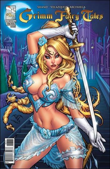 Grimm Fairy Tales (2005) 87-C by Zenescope Entertainment