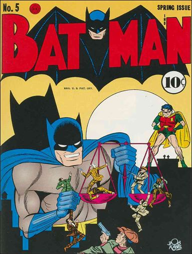 Batman (1940) 5-A by DC