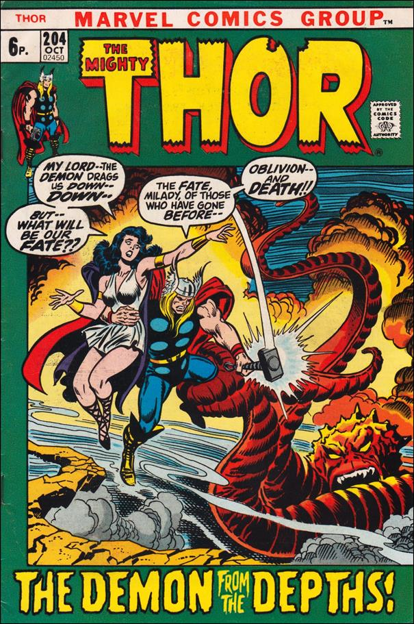 Thor (1966) 204-B by Marvel