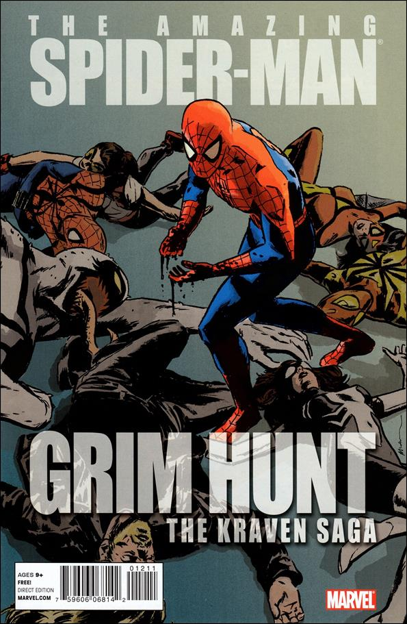 Spider-Man: Grim Hunt - The Kraven Saga 1-A by Marvel