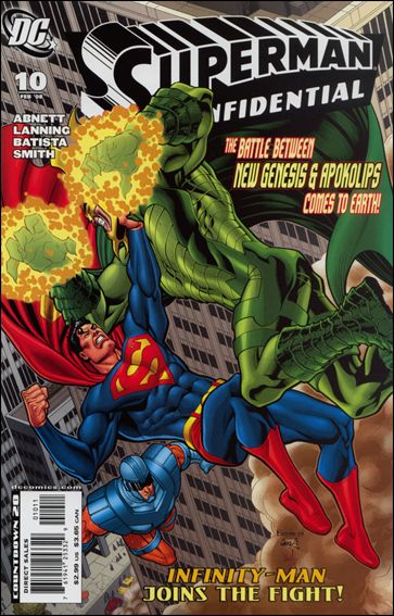 Superman Confidential 10-A by DC