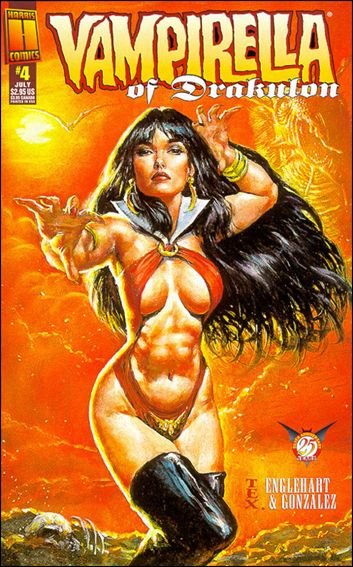 Vampirella of Drakulon 4-A by Harris