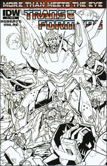 Transformers: More Than Meets the Eye (2012) 2-C by IDW