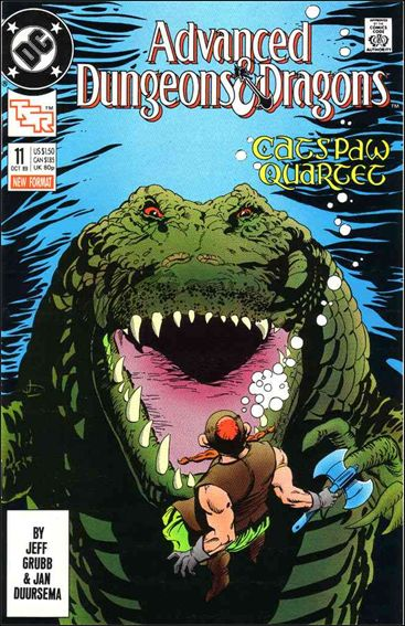 Advanced Dungeons & Dragons 11-A by DC
