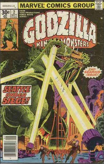 Godzilla (1977) 2-A by Marvel