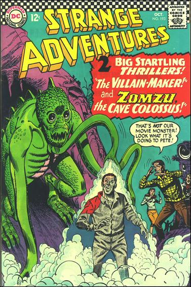 Strange Adventures (1950) 193-A by DC