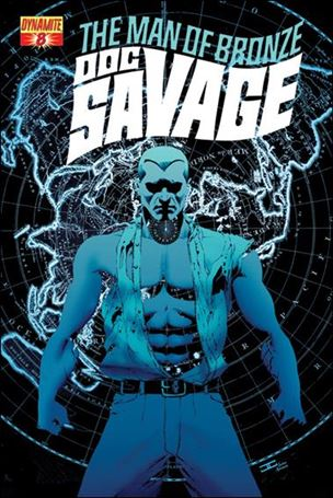Doc Savage (2013) 8-B