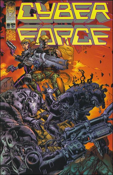 Cyberforce (1993) 19-A by Image