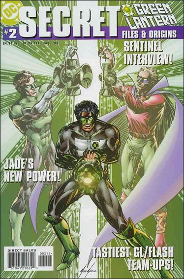 Green Lantern Secret Files 2-A by DC