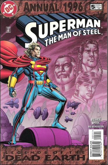 Superman: The Man of Steel Annual 5-A by DC