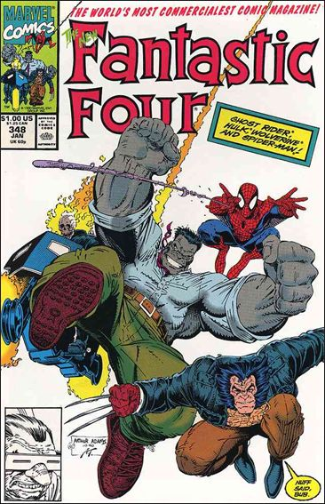 Fantastic Four (1961) 348-A by Marvel